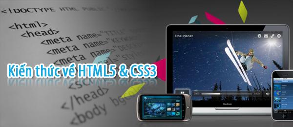 Kiến thức về HTML5 & CSS3